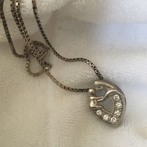 Vintage Jewelry - Mothers and child necklace